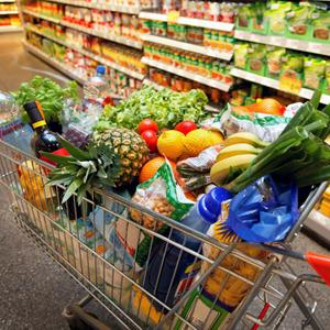 Магазины продуктов Бакала