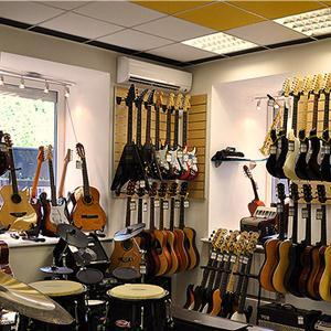 Музыкальные магазины Бакала